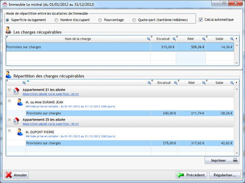 Gestion immobili re 2012 est disponible - Repartition des charges locatives ...