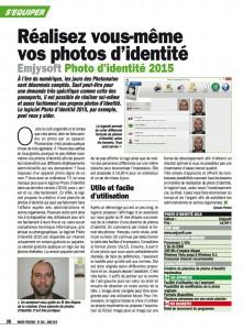 Article Photo d'identité Micro pratique